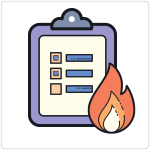 Fire safety checklist - Wooqer