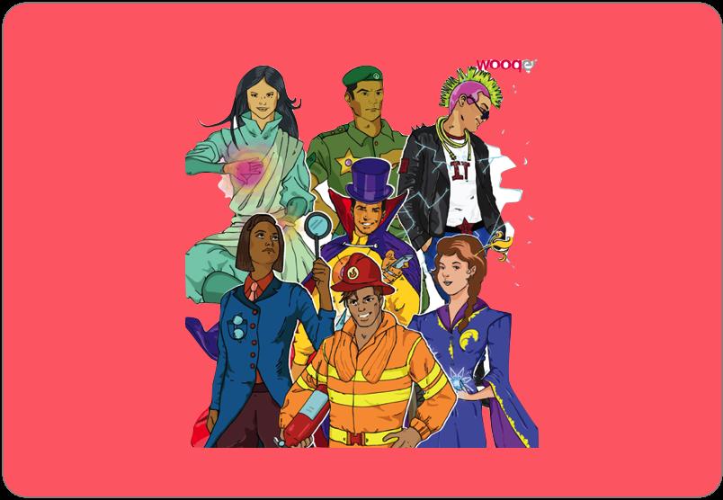 Superheroes - Wooqer