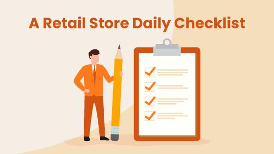 daily retail checklist